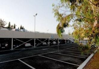 Civitavecchia (RM), Italy, 2007 (238 parking spaces)