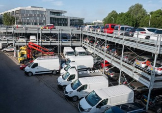 Luxembourg, Luxembourg, 2015 (240 parking spaces)