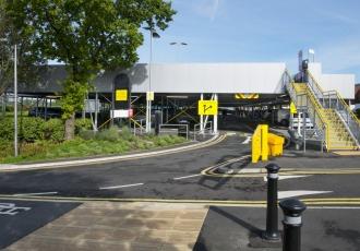 Chorley, UK, 2018 (250 parking spaces)