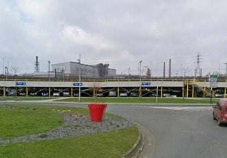 Charleroi, Belgium, 2003 (512 parking spaces)