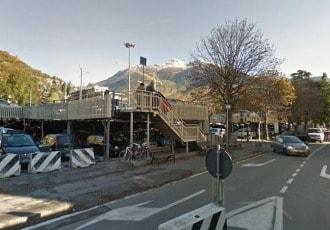 Aosta, Italy, 1998 (329 parking spaces)