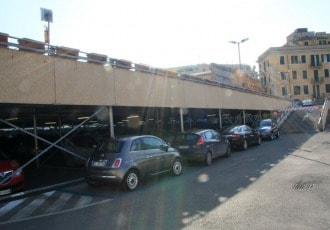 Roma, Italy, 2005 (224 parking spaces)