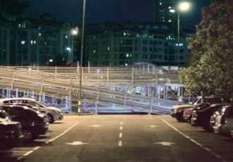 Belgrade, Serbia, 2008 (737 parking spaces)