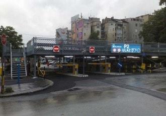 Belgrade, Serbia, 2010 (128 parking spaces)