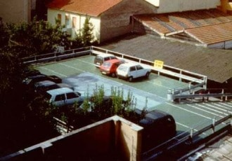 Ravenna, Italy, 1992 (17 parking spaces)