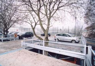 Novara, Italy, 2003 (260 parking spaces)