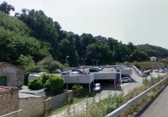 Valmontone (RM), Italy, 2005 (165 parking spaces)