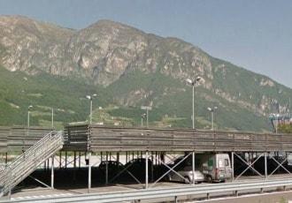 Trento, Italy, 2007 (158 parking spaces)