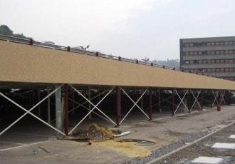 Namur, Belgium, 2006 (747 parking spaces)