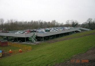 Chorley, UK, 2005 (220 parking spaces)