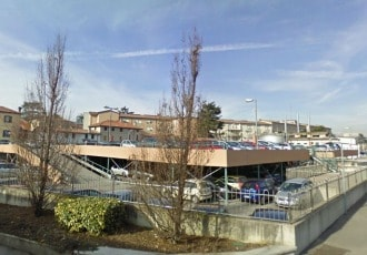 Cittadella (PD), Italy, 2003 (262 parking spaces)