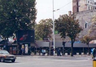 Belgrade, Italy, 2001 (76 parking spaces)